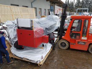 dostarczenie nowej drukarki uv led